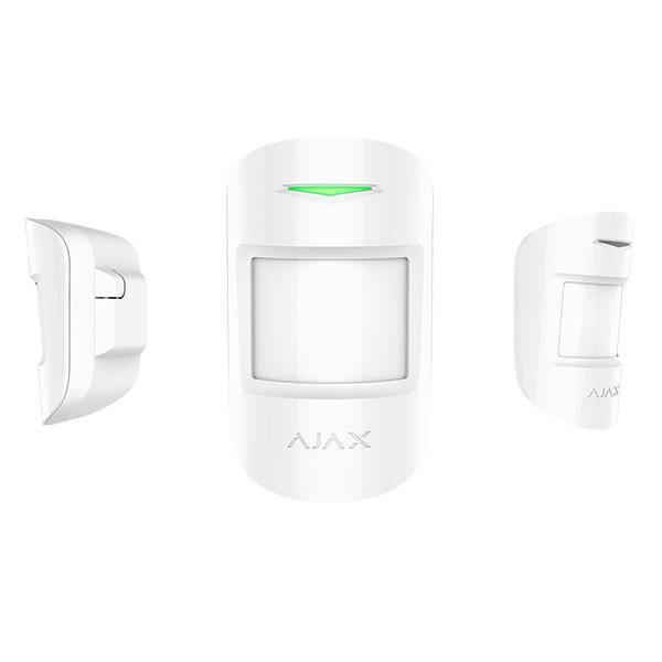 AJAX MotionProtect Bewegungsmelder Weiss mit IR-Sensor