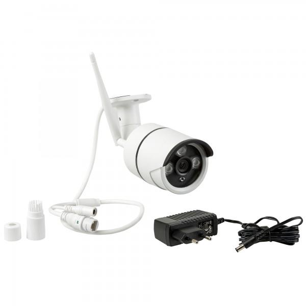 Safe2Home® Funk Überwachungskamera 4 Kanal Set Secure S1.0 - 4x Full HD Cam Nachtsicht - mit Rekorde
