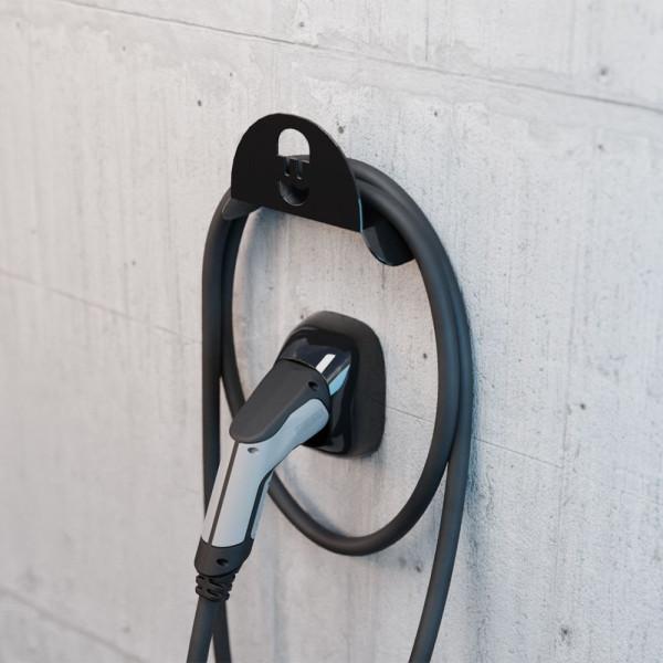 Kabelhalter - schwarz